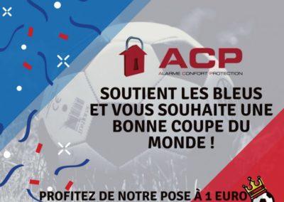 ACP soutient les bleus !